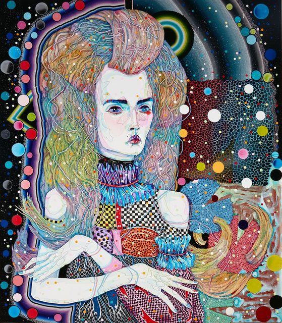 Del Kathryn Barton, 'wild carrot dream,' 2015, ARNDT