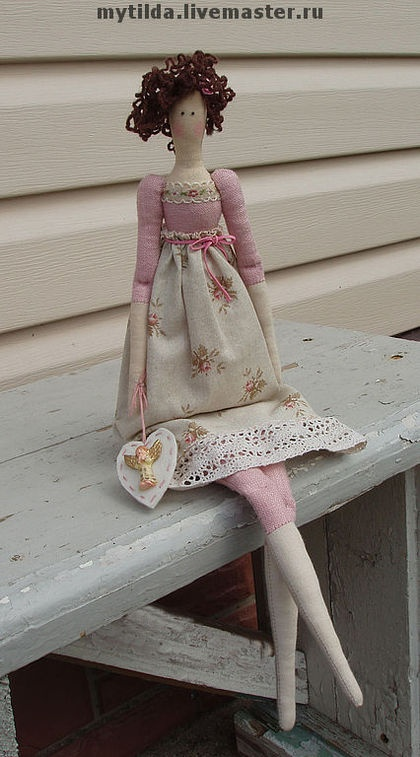 Куклы Тильды ручной работы. Ярмарка Мастеров - ручная работа Полина. Handmade.