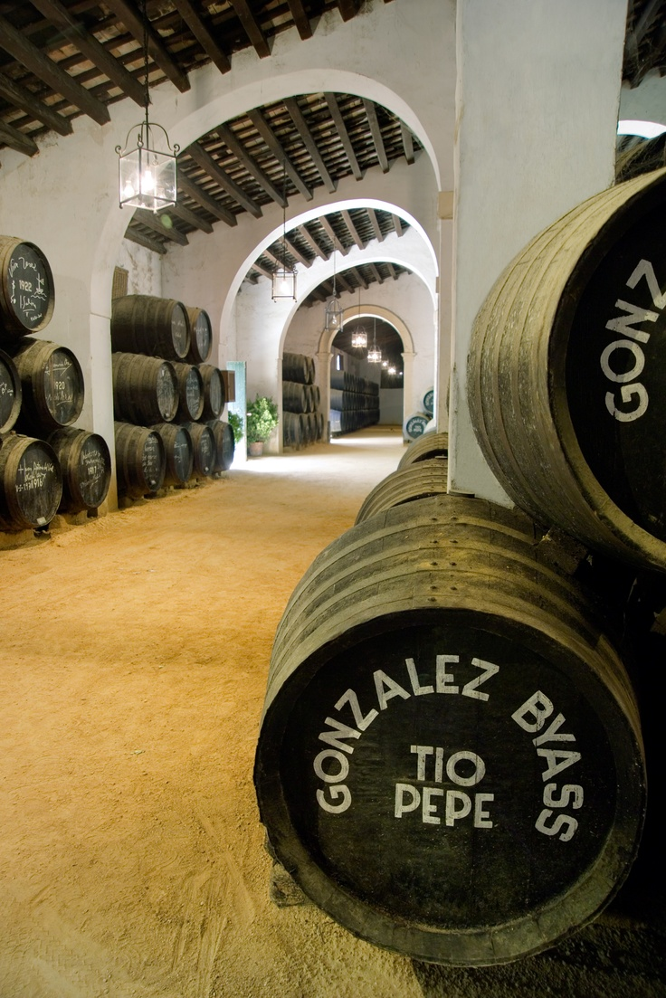Tio Pepe Bodegas. Come with us to our wine tour!  Info:  www.sevilla4real.com