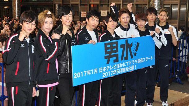 松田凌&宮崎秋人&赤澤燈ら2.5次元のスターが「男水!」での地上波への殴り込みに自信!