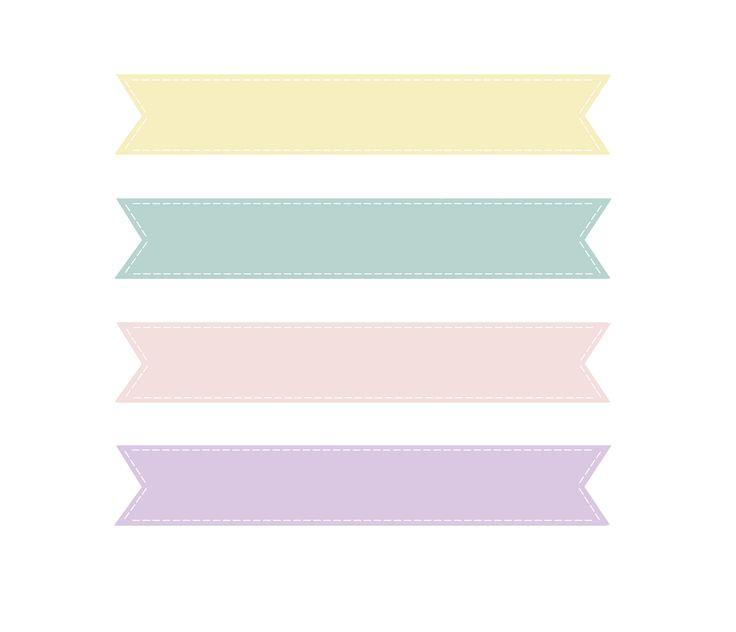 Loveration Freebies Cute Pastel Banner Clip Art Craft