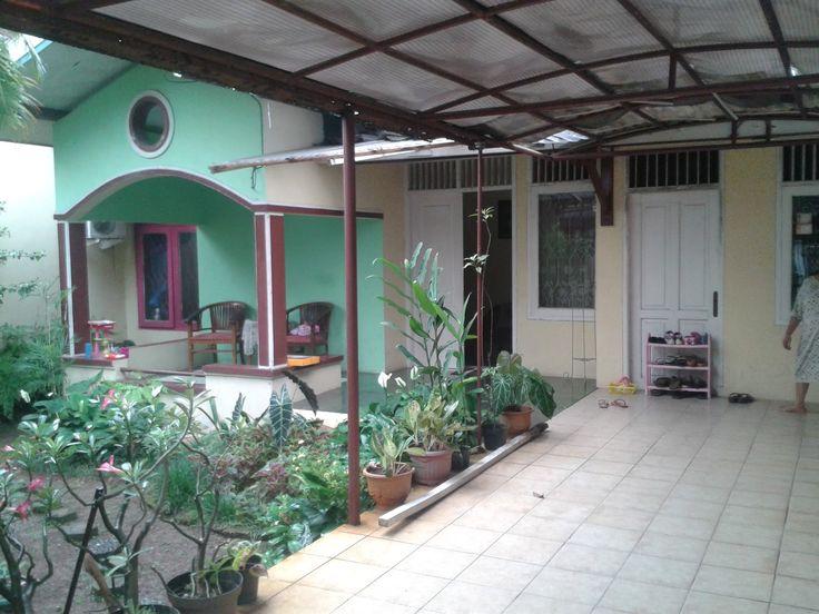 Photo Bagian Halaman Depan, rumah dijual di Peruamahan Pondok Hijau Ciputat