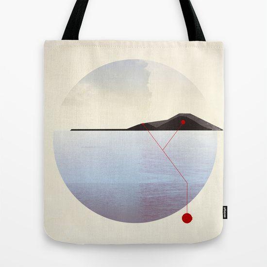 volcano Y Tote Bag