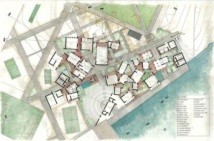 Landscape Architecture Presentation Board Layout