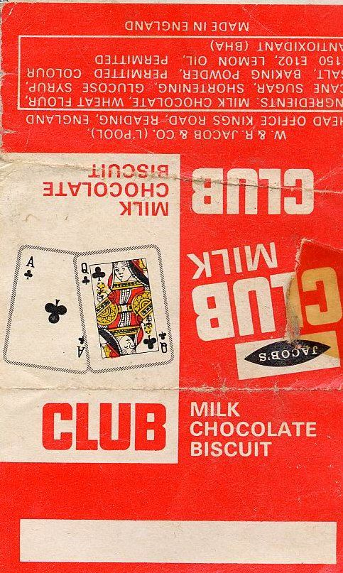 Club biscuit 70s