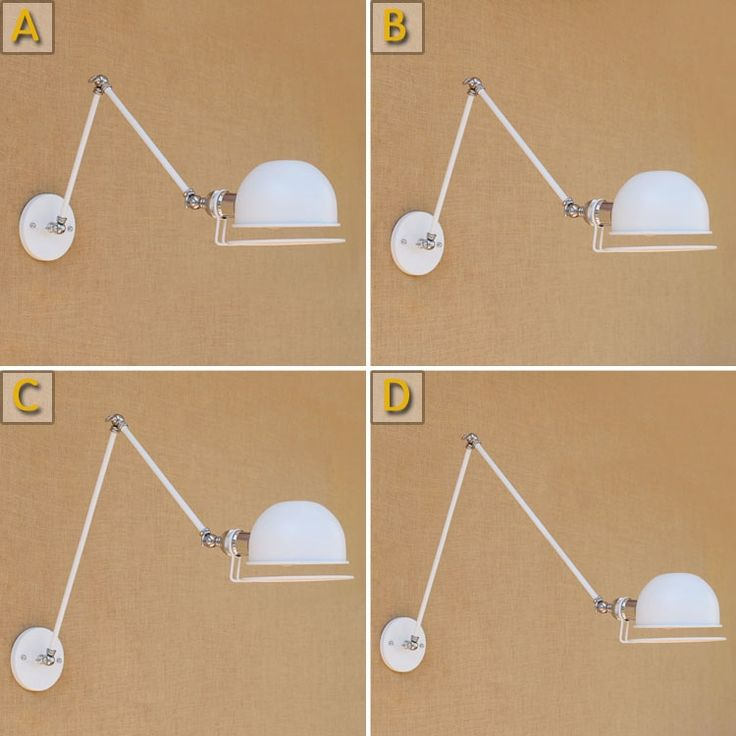 46.56$  Watch here -  Loft Style Industrial Vintage Wall Lamp LED White Adjustable Swing Long Arm Wall Light Edison Sconce Lampara Appliques Pared  #magazine