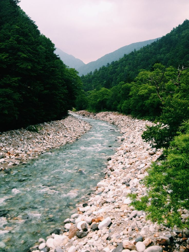 Kamikochi National Park, the most beautiful hiking in western Japan. The Japanese Alps are stunning.