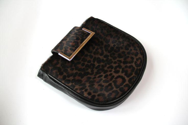 Leather clutch - Ewa Wajnert