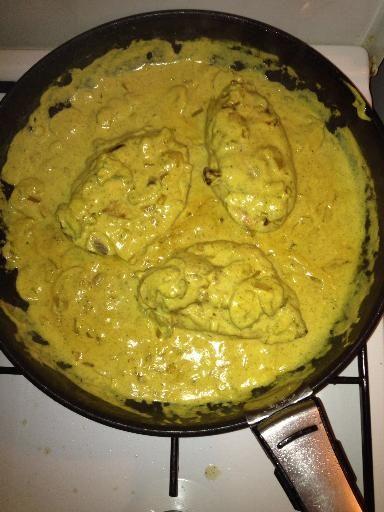 Escalope de dinde au curry - Recette de cuisine Marmiton : une recette