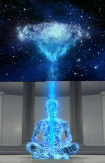 Cosmic Energy. The truth is that we are all made up of Cosmic Energy. Everything you see, smell, taste, and touch is made up of energy.