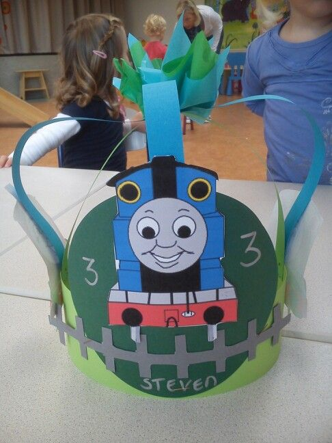 Thomas de trein muts