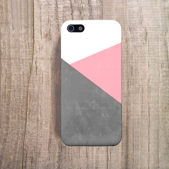 iPhone 5 Cover Eco Tech Accessories Color Block by casesbycsera