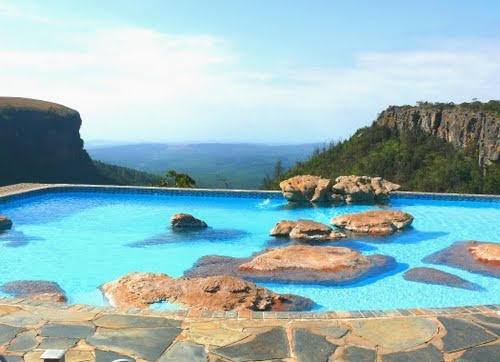 High Altitude Swimming Pool - Panorama Restcamp, Graskop, South Africa