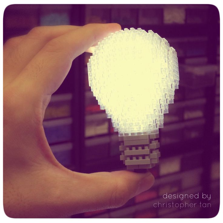 A bright idea? My nanoblock lightbulb