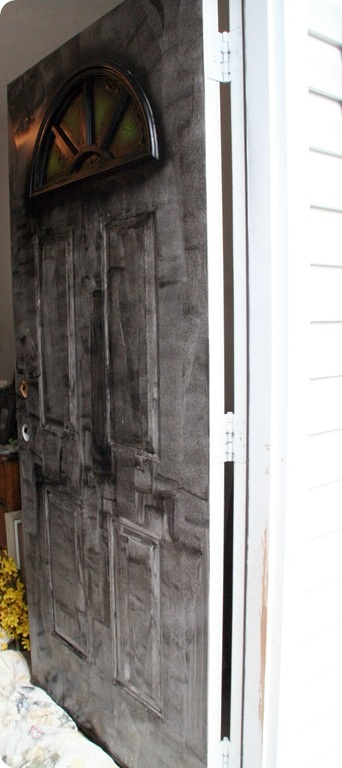 1000 ideas about painting metal doors on pinterest metal doors faux wood paint and deck lighting for How to paint metal exterior door