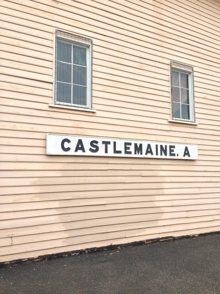 Platform A Castlemaine Railway Station