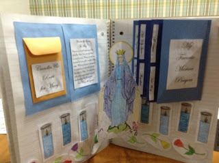 Pop Out Notebook Marian Shrine