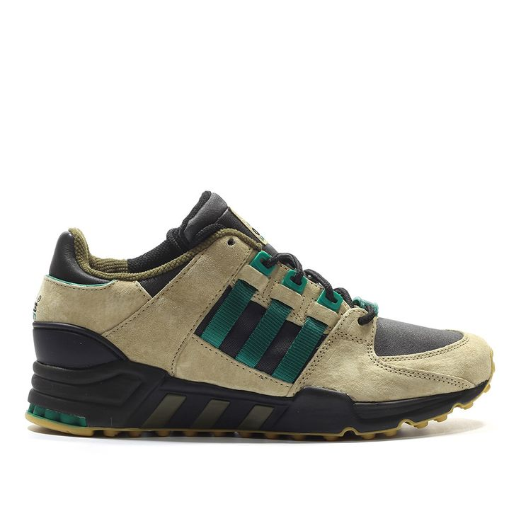 adidas Equipment Running Support 93 Torsion EQT (beige/black/green) - Free Shipping starts at 75€ - thegoodwillout.com