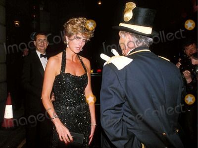 C/n 016126 6-21-1994 Ritz Hotel Party in London Princess Diana Photo By:miguel-alpha-Globe Photos, Inc 1994
