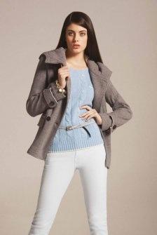 cappotto donna hooded coat con cappuccio H