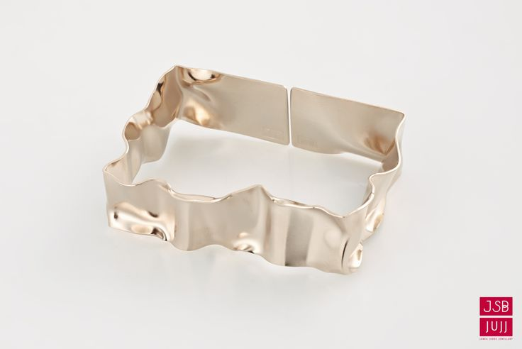 Crinkled Bracelet - Narrow, jesuisbelle jujj jewellery