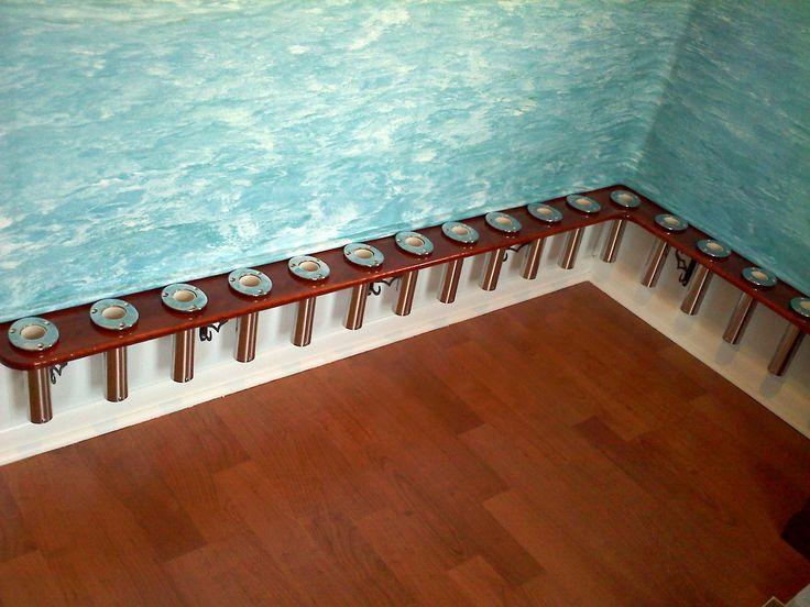 Basement Storage Organization