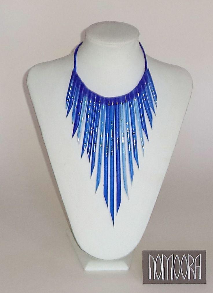 Noodles necklace.Handmade, contemporary  jewel by Petros Mantouvalos for Nomoora Jewellery.Shop on line @ www.nomoora.com