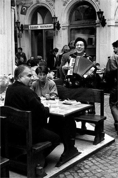 Madam Anahit, Anahita Yule ( 1917-2003) at Yorgo's Winehouse, Çiçek Pasajı (  Flower Passage, Cité de Péra,Hristaki Passage) is a famous historic passage (galleria or arcade) on İstiklal Avenue in the Beyoğlu district of Istanbul, Turkey.