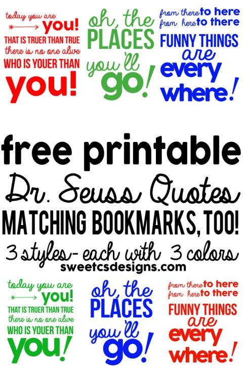 MEGA-Dr-Seuss-download-3-quote-printables-in-different-colors-plus-free-bookmarks