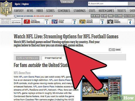 How to Watch NFL Games Online: 9 Steps (with Pictures) #watch #college #gameday #online http://california.nef2.com/how-to-watch-nfl-games-online-9-steps-with-pictures-watch-college-gameday-online/  # How to Watch NFL Games Online Find a reputable streaming site. Streaming sports events online is typically not legal due to broadcasting restrictions. Because of this, you will need to find sites that exist outside of the jurisdiction of these laws and provide streams of events. Popular sites…