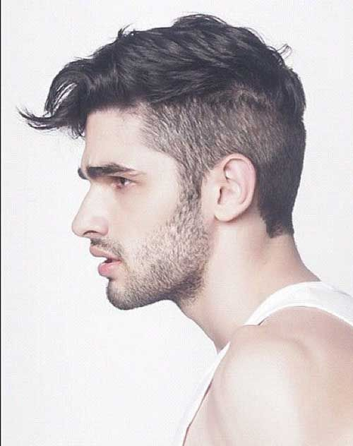 haircuts wavy hair men
