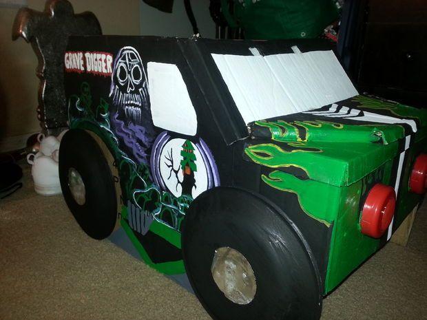 truck costume | Grave Digger Monster Truck Costume