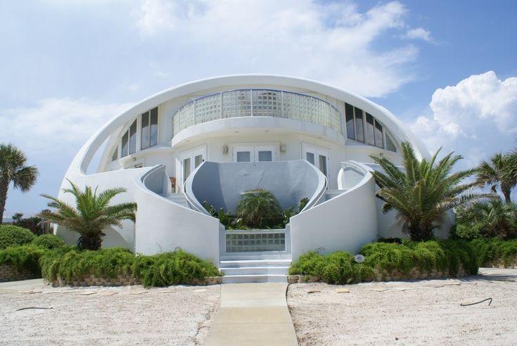 Dome home on pensacola beach 4 bdrms 4 baths pool for Architectural concepts pensacola florida