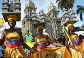 Fiestas de la Virgen de las Mercedes choco en Colombia
