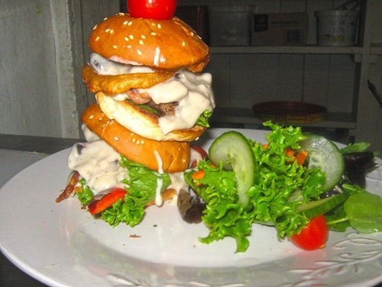 Wednesday is 'Gourmet Burger' Day at Petits Fours! Your choices are endless, so join us and experience 'Burger Heaven'