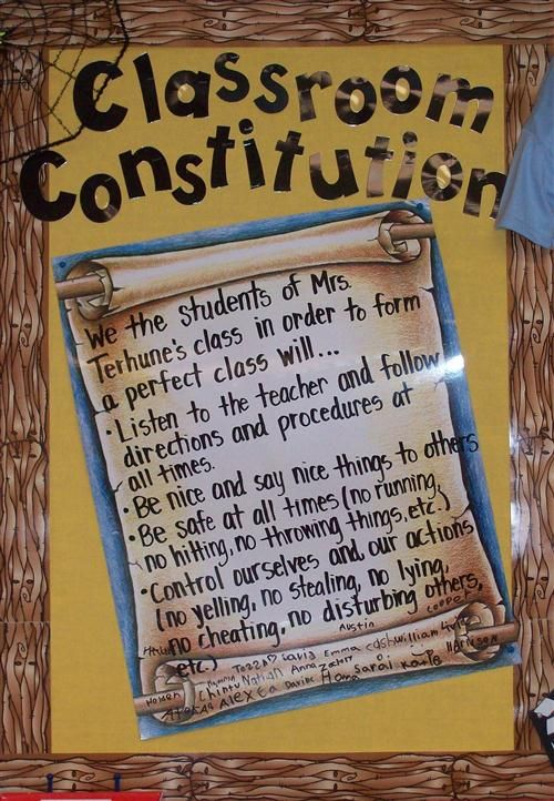 We the Students: Writing a Class Constitution