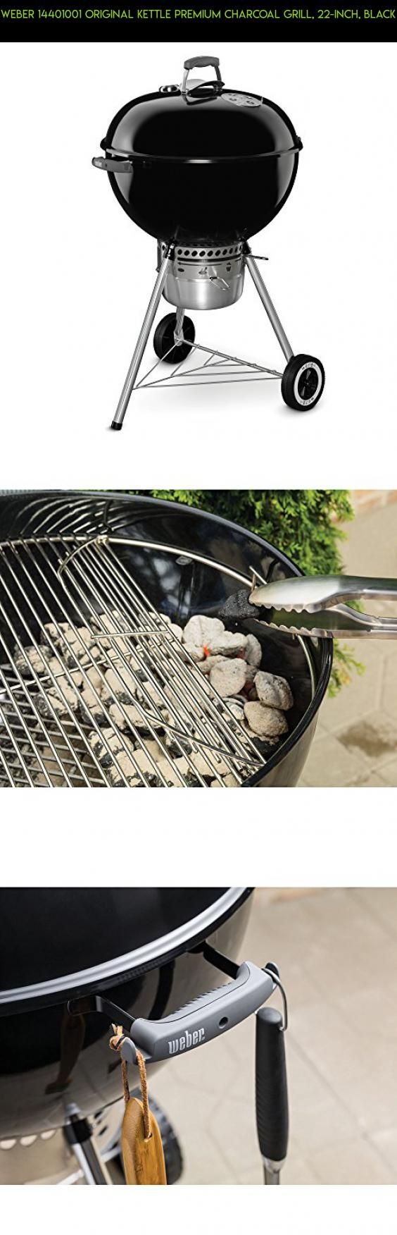 Weber 14401001 Original Kettle Premium Charcoal Grill, 22-Inch, Black #grills #products #kit #parts #technology #drone #gadgets #plans #weber #tech #racing #fpv #shopping #camera
