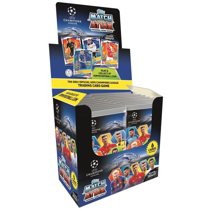2016/17 Topps Match Attax UEFA Champions League Soccer Cards individual packs