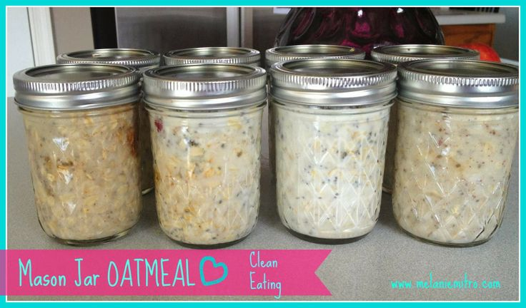 Mason Jar Overnight Oatmeal. IN LOVE WITH THIS RECIPE!!! You have to try this! super easy and simple to make!!!! www.melaniemitro.com