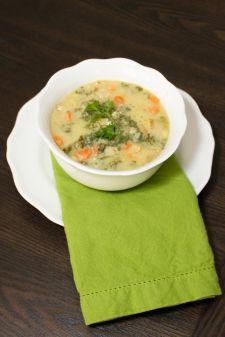 vegetable chowder, a variation to potato leek chowder Wild Rose cleanse