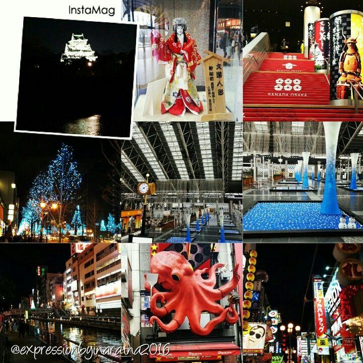 A glimpse of Osaka - Osaka, Japan