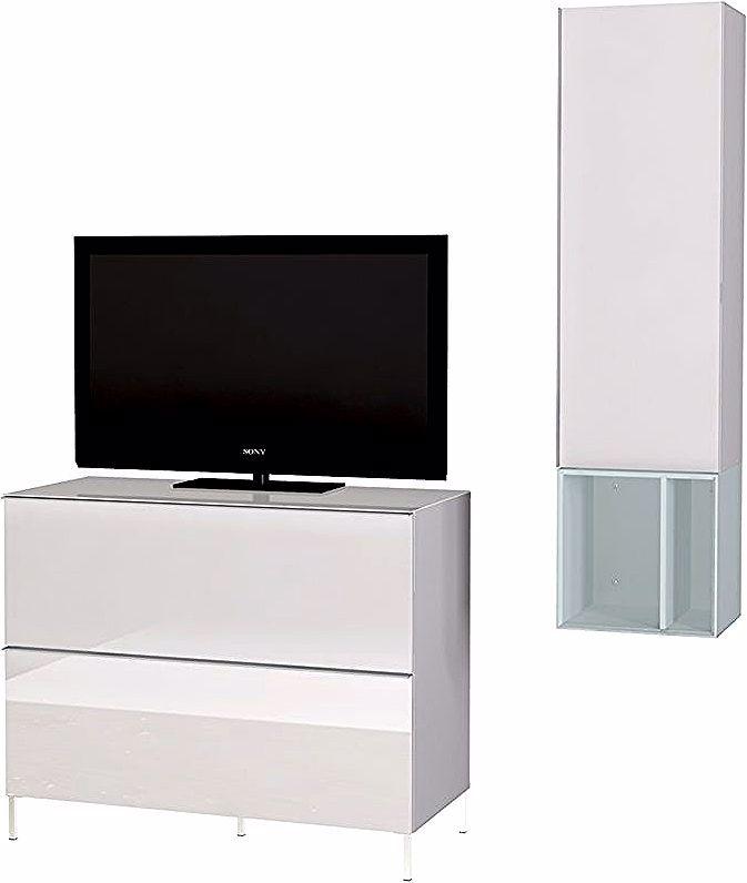 Ensemble De Salon Meuble Tv Coloris Blanc Nordic Bleu Pegane 15ger 8476 522 Rattan Sofa Home Decor Furniture