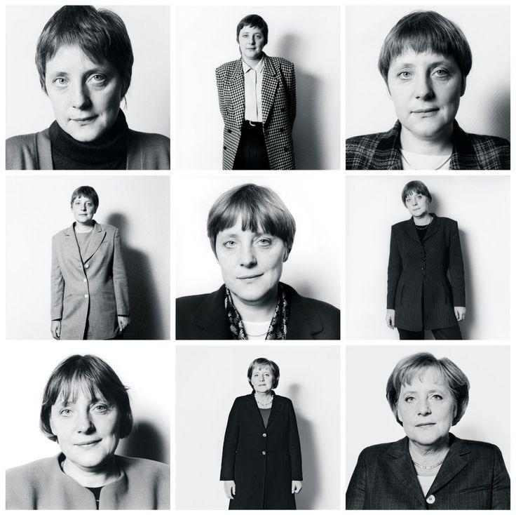 Portraits: Angela Merkel, via TNYarchive