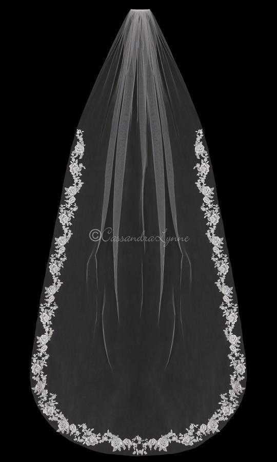 74 Best Cathedral Wedding Veils Images On Pinterest