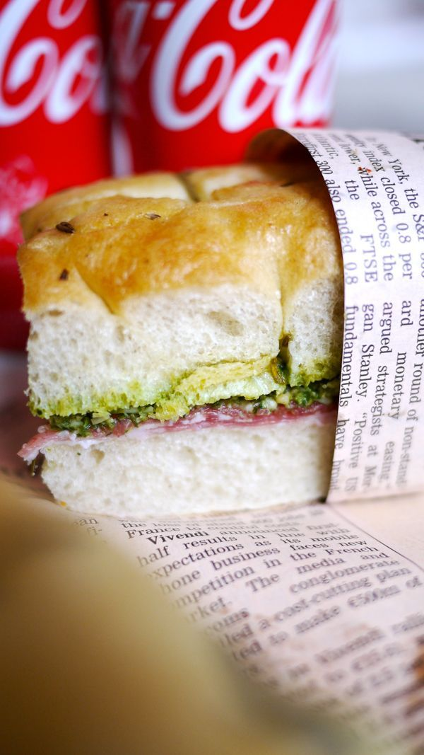 Pressed Italian Sandwiches | Things to put in my mouth. | Pinterest