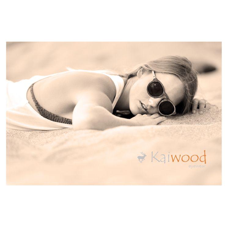 Anteojos de madera hechos a mano. ¡Disfruta la naturaleza con Kaiwood!