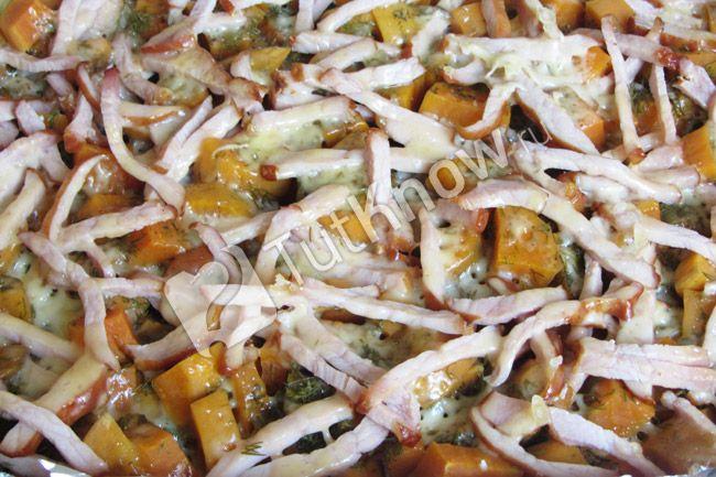 Рецепт - Батат запеченный в духовке готовый