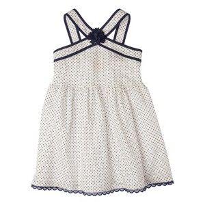 Genuine Kids from OshKosh Infant Toddler Girls' Polka Dot Dress - Oxford Blue