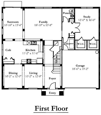 Mercedes Homes Florida Kayla Palm Floor Plan