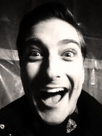 Daniel Lissing from When Calls the Heart (behind the scenes )